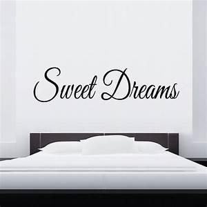 Wandtattoo Sweet Dreams : schlafzimmer wandtattoo selbst gestalten designlounge ~ Whattoseeinmadrid.com Haus und Dekorationen