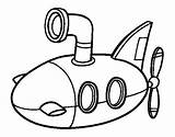 Submarino Sottomarino Colorear Submarinos Submerged Acolore Submarines Registrato Vbs Coloringcrew Ferienprogramm Coloritou Dicembre Pitturato Guerre Coloriages sketch template
