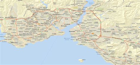 istanbul maps