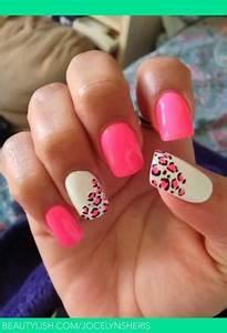 pink and matte black leopard print