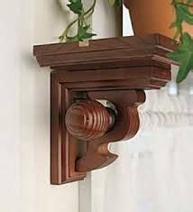 1000 ideas about wooden curtain rods on