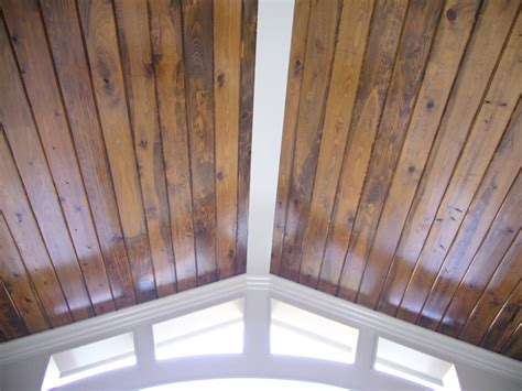 Stained Beadboard Ceiling : European Style Home In The Park At Anderson Farm