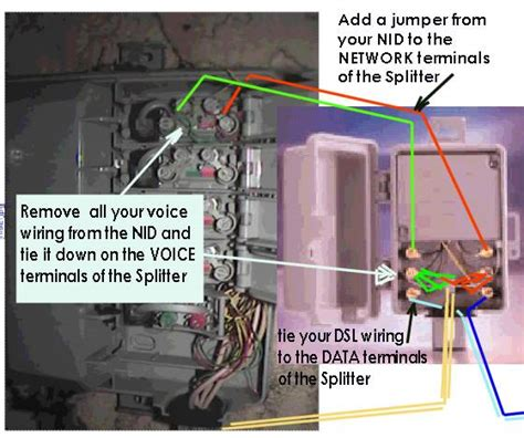 Telephone Dsl Splitter Wiring Diagram by At T West Faq Dslreports Isp Information