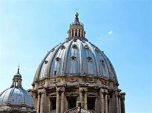 St Peters Basilica Dome Vatican City Italy Photograph by