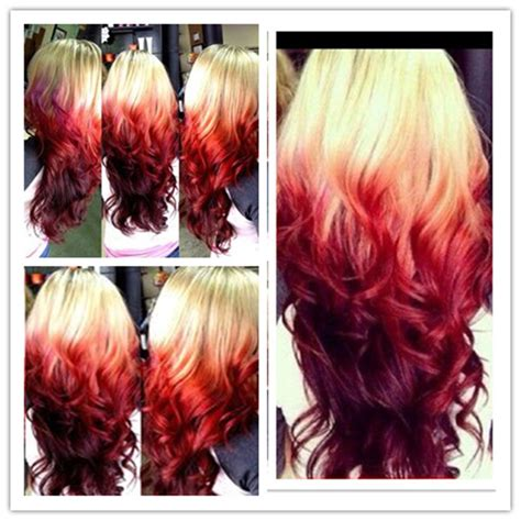 One Step To Own Your Unique Red Ombre Hair Color Vpfashion