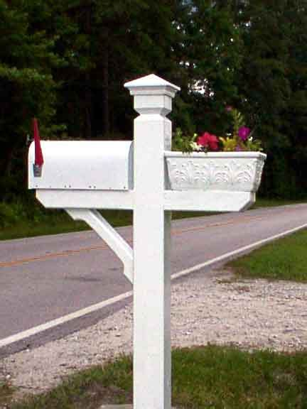 mailbox post wood plans   build diy woodworking