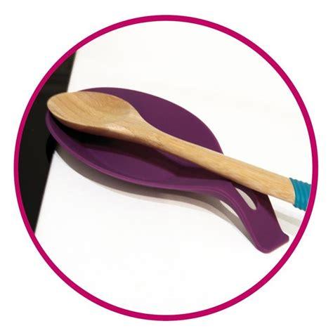 ustensile cuisine silicone repose ustensiles en silicone