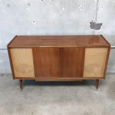 stereo cabinet vintage vintage grundig majestic stereo cabinet w reel to reel