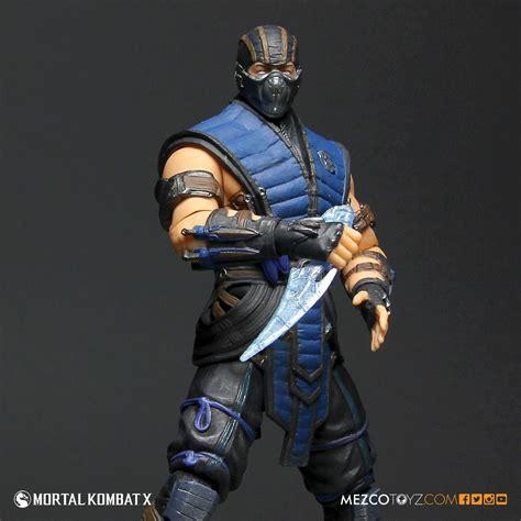 "Mortal Kombat X SubZero 12"" Figure  Mezco Toyz"