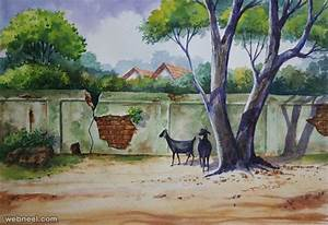 25 Beautiful Watercolor Paintings by Tanjore artist ...