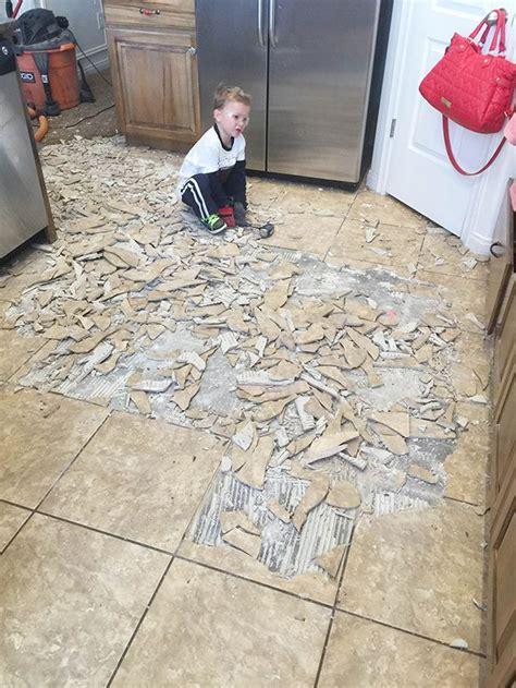 remove tile flooring   tips  tricks