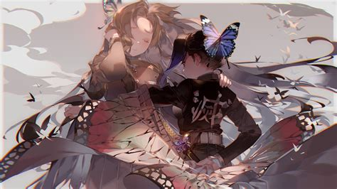 demon slayer kanae kocho shinobu kochou hd anime