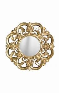 Miroir Baroque Doré : miroir baroque dor de style v nitien ~ Teatrodelosmanantiales.com Idées de Décoration