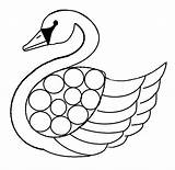 Swan Coloring Pages Printable Template Baby Swans Print Adult Olds Flying Getcoloringpages Coloringbay Lake Results sketch template