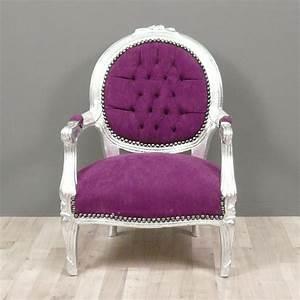 Fauteuil Enfant Fille : fauteuil baroque style louis xvi enfant fauteuils chaises ~ Teatrodelosmanantiales.com Idées de Décoration