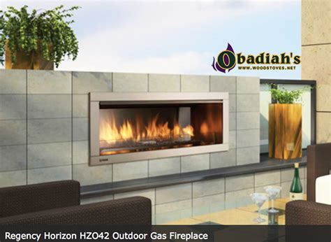 vent free outdoor fireplace regency hzo42 linear contemporary outdoor gas fireplace