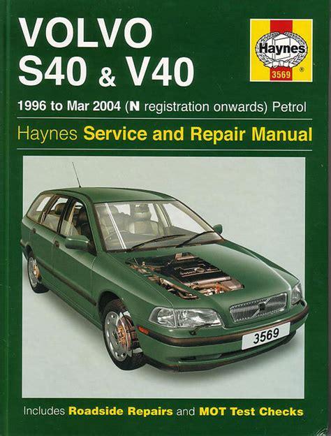 auto repair manual free download 2008 volvo s60 electronic valve timing volvo s40 v40 shop manual service repair workshop book haynes chilton v 40 wagon ebay