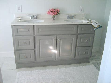 ten june diy custom painted grey builder standard bathroom vanity