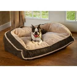 serta perfect sleeper super pillowtop pet bed mocha sams