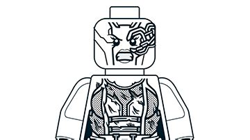 nebula coloring pages lego marvel super heroes