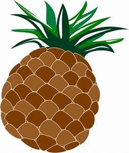 Cute Pineapple Clip Art at Clker.com - vector clip art ...