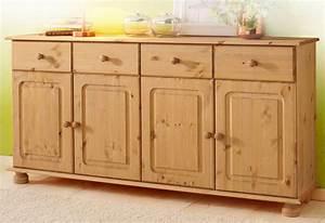 Sideboard Höhe 100 Cm : home affaire sideboard mette breite 156 cm otto ~ Bigdaddyawards.com Haus und Dekorationen