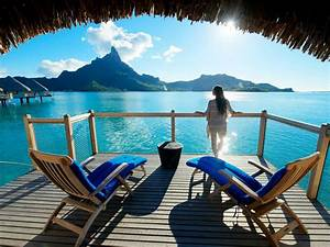 bora bora french polynesia south pacific luxury With tahiti honeymoon packages overwater bungalow