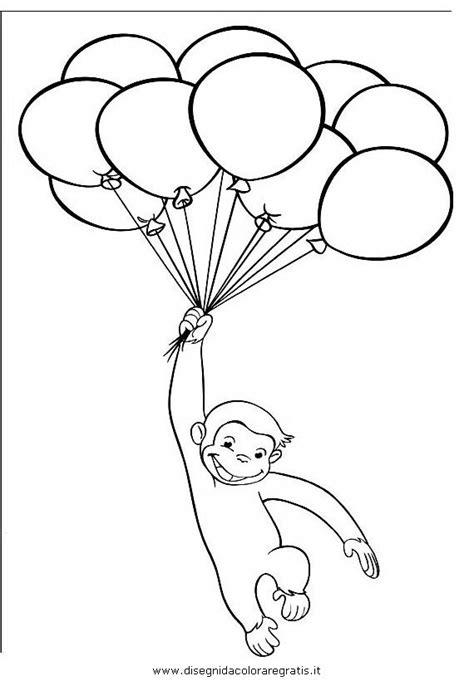 disegno curiosogeorge personaggio cartone animato da