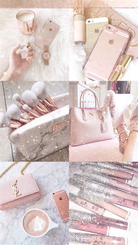 Asthetic Iphone Lock Screen Girly Gold Wallpaper by Fashionista1152 Wallpapers Gold Aesthetic