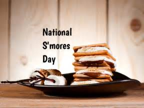 national smores day celebrated