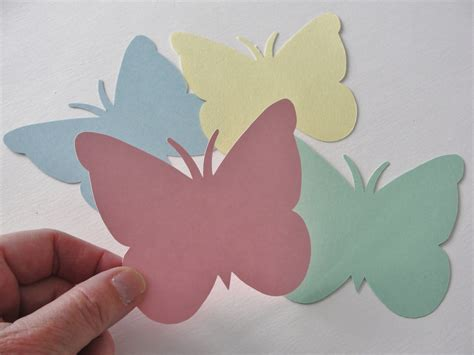 Butterfly Paper Cut Outs