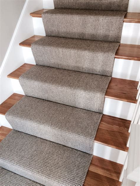 carpet runners for stairs merida flat woven wool stair runner by the carpet workroom