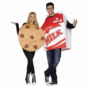 Adult Cookies Milk Couples Costumes Includes 2 Costumes