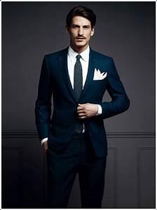 100 best blue men39s suits combinations to look more gorgeous With nice quelle couleur avec le bleu marine 17 la chemise bleue