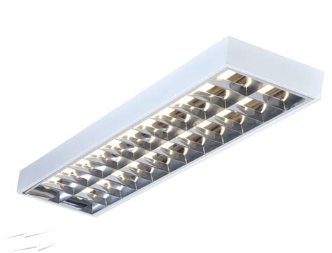 6 recessed lighting bsm236al 2 x 36w t8 4ft white surface mounted