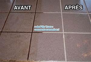 Nettoyer Carrelage Noir : l 39 astuce pour nettoyer et faire briller un carrelage encrass ~ Premium-room.com Idées de Décoration