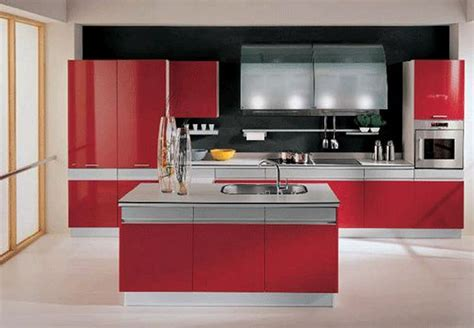 perfect red country kitchen cabinet design ideas for adorable contemporary small kitchen design ideas with