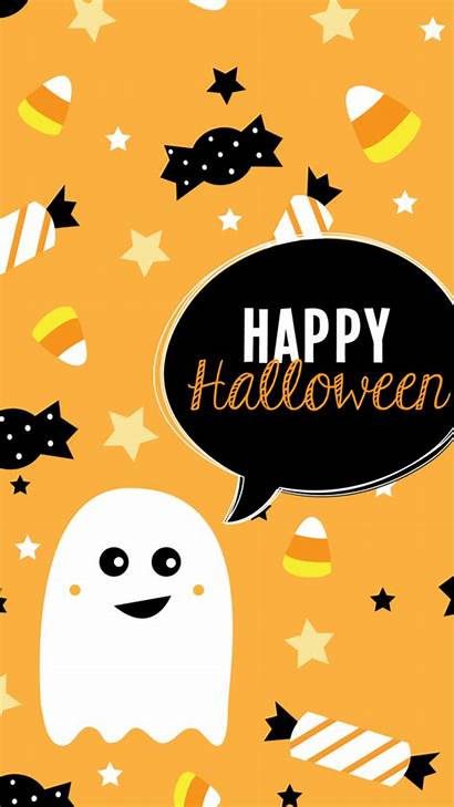 Halloween Happy Snoopy Simple Iphone Phone Wallpapers
