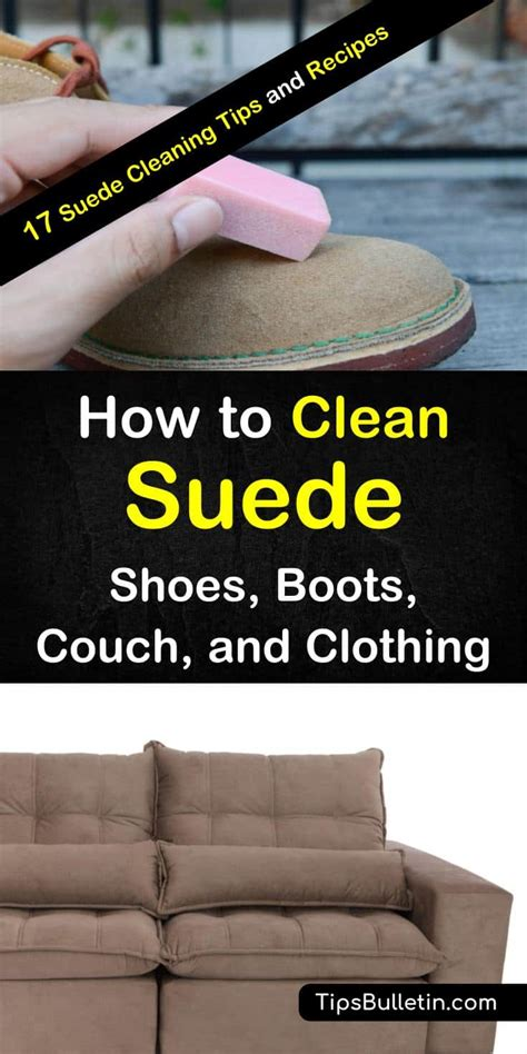 Can You Clean A Microfiber With A Carpet Cleaner by How To Clean Suede Shoes Boots And Clothing