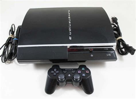 Sony Playstation 3 System 60gb Backwards Compatible