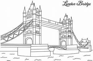 London Bridge Dessin : london bridge coloring printable page for kids coloriage ~ Dode.kayakingforconservation.com Idées de Décoration