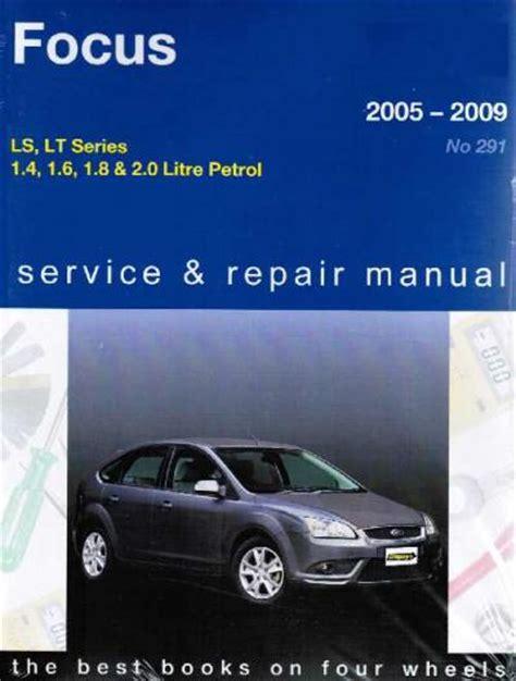 ford focus ls lt series   gregorys service repair