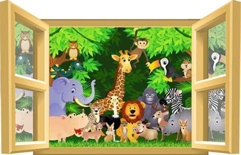 chambre de bébé jungle deco chambre bebe garcon jungle