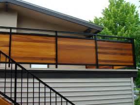 balcony design ideas simple outdoor privacy screens horizontal privacy deck railing designs