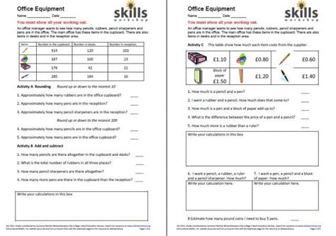 numeracy functional maths and gcse resources