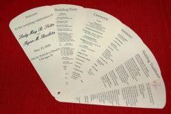 wedding programs ryan