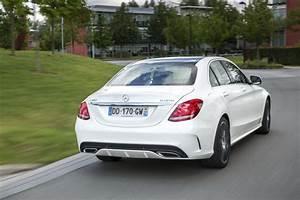 Mercedes Classe C Blanche : mercedes classe c 2018 photos et infos de la classe c restyl e photo 25 l 39 argus ~ Maxctalentgroup.com Avis de Voitures