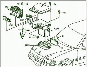 2001 Mercedes Benz Clk 320 Fuse Box Diagram  U2013 Circuit