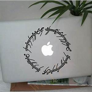 free shipping hobbit stickers 6quot elvish circle decal With inspiration lord of the rings wall decals