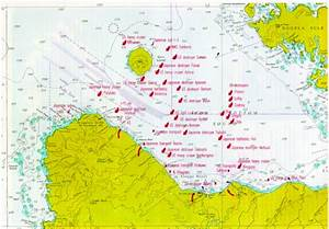Location Map Of Some Of The Ww Ii Wrecks In Iron Bottom Sound  Solomon